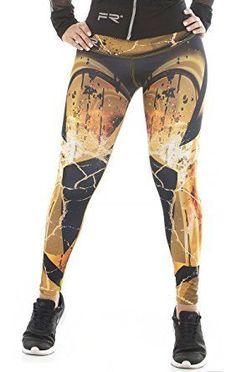 d573cae2c50b1 Fiber Leggings Womens Yoga Pants Compression Tights (blue knit) at Amazon  Women s Clothing store