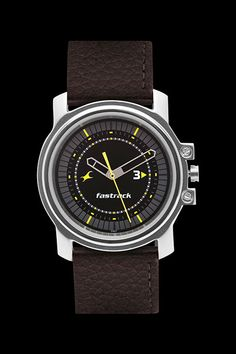Fastrack Men Leather Analogue Watch -  Ne3039sl02