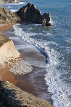 the sea, the surf, the salt