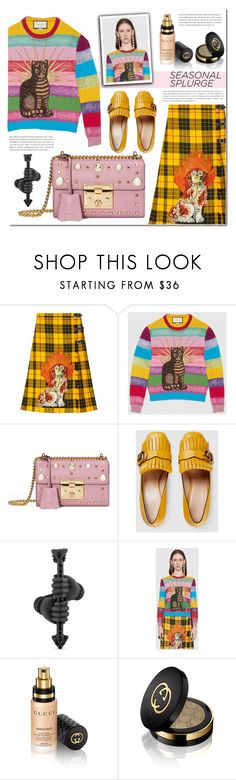"""You're Worth It! Splurge Gifts"" by pankh ❤ liked on Polyvore featuring Gucci"