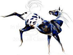Appaloosa Horse Art Painting Print Jill Claire by JillClaireArt, $22.00