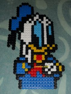 Donald hama beads by creation-nath