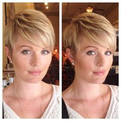 Hair highlights short blonde cut and color 42 Trendy Ideas Short Hairstyles Fine, Short Layered Haircuts, Trendy Hairstyles, Haircut Short, Edgy Short Hair, Short Blonde, Short Hair Cuts, Short Ombre, Brown Hair With Blonde Highlights