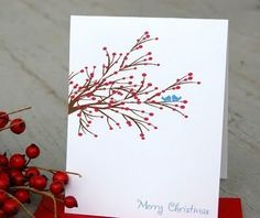 belle maison: Etsy Finds: Handmade Christmas Cards