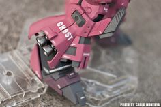 "MG 1/100 Rick Dias ""GHOST"" Custom Build - Gundam Kits Collection News and Reviews"