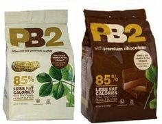 PB2 Powdered Peanut Butter Bundle - 2 Items: Powdered Peanut Butter 16 oz. and Powdered Chocolate Peanut Butter 16 oz: Amazon.com: Grocery & Gourmet Food