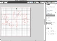 How to Create a Monogram in Silhouette Studio