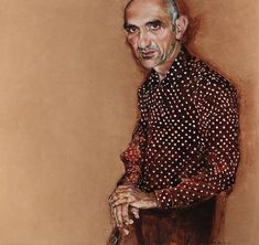 Archibald Prize Archibald 2007 finalist: Words and music – portrait of Paul Kelly by Peter Hudson