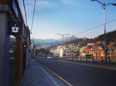 서울의 거리 #부암동 #종로구 #buam-dong #jongro-gu Local Tour, Times Square, Sidewalk, Tours, Travel, Viajes, Side Walkway, Walkway, Destinations