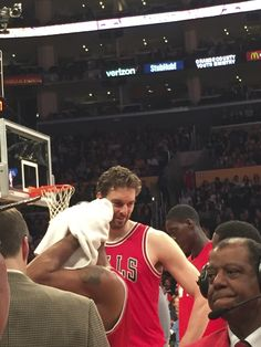 Pau, Lakers vs. Bulls, 1/28/16. Pau posted 21 points, 12 rebounds, 7 assists, 1 steal and 1 block in a 114-91 blowout win for the Bulls