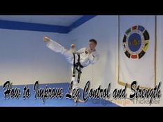 Taekwondo Leg Drills For Better Kicking Control and Strength - YouTube