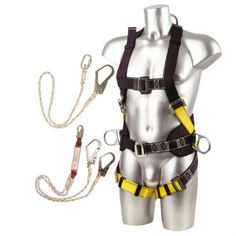 Construction Kit - One Size. From the Capital Workwear Fall Arrest Systems Range. PPE Safety. Provides the user with the ability to transfer between points where the use of a single lanyard would have left them temporarily unprotected. The wearer can pass an edge but will then be protected from the force of falling. The user has the option to be positioned without the extra lanyard hook.