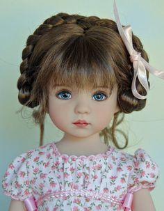 "Monique ""Dani"" Wig in Light Brown for Dianna Effner Little Darling Wig Only | eBay"