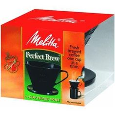 Melitta pour-over coffee maker - Yet another one of my favorite ways to brew coffee
