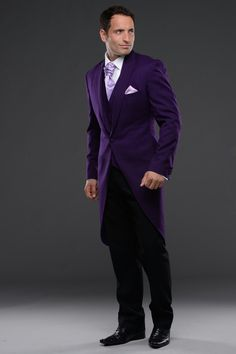 Purple tailcoat