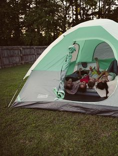 Backyard Campout.