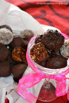 μπαλίτσες μανταρινιού, τρουφάκια μανταρινιού, τρουφάκια, truffles mandarin, truffles, mandarin