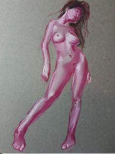 model schets in perspectief 1 - pastel, 2020 My Arts, Model, Scale Model, Models, Template, Pattern, Mockup, Modeling
