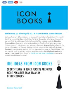 New Books from Icon Books: April.
