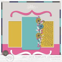 No more Link - Quality DigiScrap Freebies: Template freebie from Design by Heather T.
