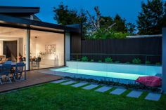 www.integratedpools.com.au  ph: (03) 8532 4444  How amazing is this by Integrated pools   #integratedpools #canny #melbournepools