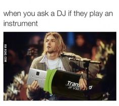 No, that's not an instrument!