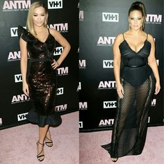 #RitaOra and #AshleyGraham stun at the #AmericasNextTopModel premiere party on Thursday night in NYC! Rita is wearing #JohannaOrtiz!! #ANTM @antmvh1 • • • • • • • • • • • • • • • • • • • • • • • • • • • • • • #RitaOra e #AshleyGraham deslumbrante na festa de estréia da #AmericasNextTopModel na noite de quinta-feira em NYC! Rita está usando #JohannaOrtiz!! #ANTM