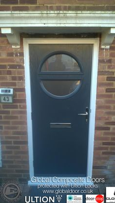 4 Square Composite Front Doors | Front door Ideas | Pinterest ...