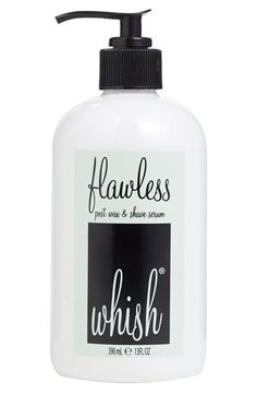 Whish Flawless banishes the curse of unsightly bumps caused by shaving, waxing and laser. This all-natural formula uses clinically proven active ingredients to help reduce and prevent ingrown hairs from occurring without the use of alcohol or drying chemicals. The result is smooth, bump-free skin with just one pump and no pain.