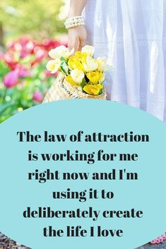 law of attraction affirmations Love this post!!! So inspirational