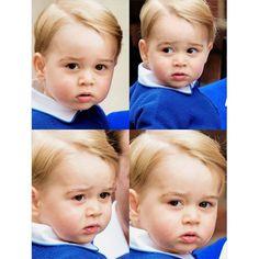 gorgeous little prince. ❤ #princegeorge #george #princegeorgeofcambridge img.timeandwinsdor.tumblr