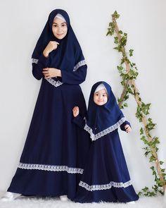 Modern Hijab Fashion, Muslim Women Fashion, Abaya Fashion, Hijab Style Tutorial, Hijab Style Dress, Mother Daughter Fashion, Girls Special Occasion Dresses, Hijab Fashionista, Kids Gown