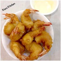 Singapore Home Cooks: Prawn Fritters by Nancy Kee Prawn Recipes, Shellfish Recipes, Seafood Recipes, Asian Recipes, Cooking Recipes, Chinese Recipes, Chinese Meals, Cooking Dishes, Parmesan Recipes