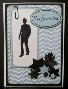 Konfirmations kort. Confirmation Cards, Scrapbook Cards, Scrapbooking, Die Cut Cards, Quilling, Projects To Try, Inspiration, Sink Tops, Christening