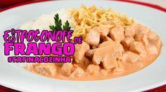 Estrogonofe de Frango #TATINACOZINHA|Tatiane Xavier