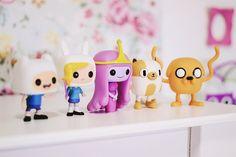 O Fantástico Mundo de Jess: Novos bonecos Hora de Aventura, Pop! da Funko   Adventure Time