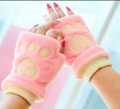 Find More Gloves & Mittens Information about HuanYU winter Fahion Fluffy Women warm   warm the knitting gloves velvet Mittens peach heart design,High Quality glove making,China glove Suppliers, Cheap gloves nitrile from huanyu commodity  co.,ltd on Aliexpress.com