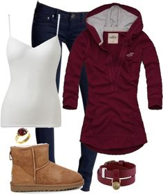 """Casual 351"" by ladyshadows410 on Polyvore. love this outfit, just not the shoes. id wear combat boots with it :)"