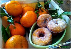Rosquillas de naranja Bagel, Doughnut, Bread, Desserts, Food, Breakfast Bagel, Orange, Sweets, Cooking