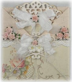 101 Prettiest Pinterest Shabby Chic - My Picks... look at the flowers & scrolls for inspiration