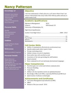 find this pin and more on revive resume call center or customer service resume template