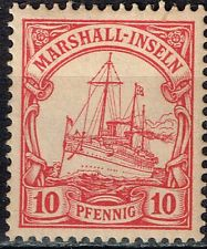 Marshall Islands German Colony rare classic stamp 1901 MLH