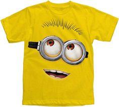 Bluzki, topy i koszulki Ladies Christmas Happy Minion T-Shirt Funny Xmas Despicable Me Sizes 8-18 Odzież, Buty i Dodatki