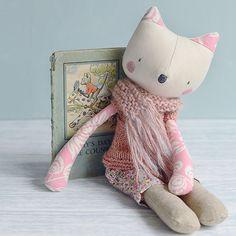 Handmade Hafferty doll by Sarah Gardner