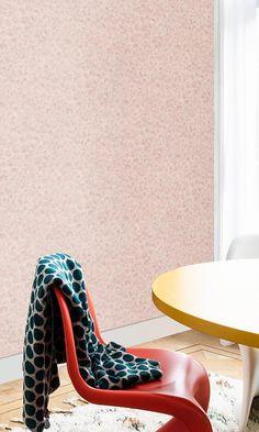 Powder Room Wallpaper, Art Deco Wallpaper, Nature Wallpaper, Vintage Looks, Vintage Art, Crystal Room, Paint Effects, Shells, Peach