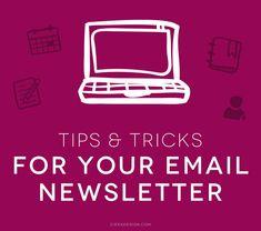Tips & Tricks for Your Email Newsletter | Ciera Design Studio