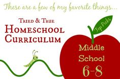 These are wonderful materials for homeschooling middle school students! A really good list that I definitely am going to use!