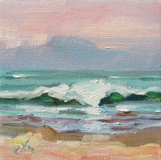 RELISTED DUE TO EBAY ERROR - TOM BROWN STUDIO SALE, OCEAN, BEACH, WAVE SURF -- Tom Brown