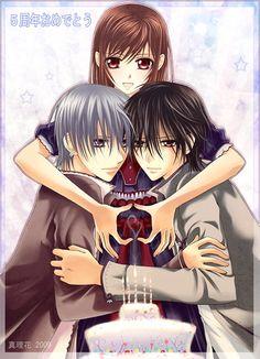 Vampire knight yuki do you love zero and kaname?!?!?!?!
