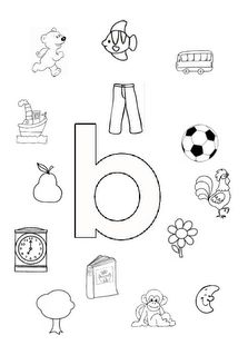 aud identificatie b Letter B Worksheets, Alphabet Worksheets, Preschool Worksheets, Preschool Activities, Abc Coloring Pages, I Love School, Letter Games, Toddler School, Teaching Letters